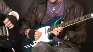 Synyster Gates & Zacky V (Avenged Sevenfold) Guitar Lesson Bat Country