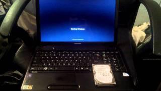 Hard Drive Upgrade 128gb SSD boot times - Toshiba Satellite c655