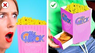 AMAZING! 8 Super Easy &amp Sneaky Ways To Sneak Snacks