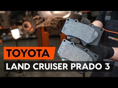 Как заменить передние тормозные колодки на TOYOTA LAND CRUISER PRADO 3 (J120) [ВИДЕОУРОК AUTODOC]