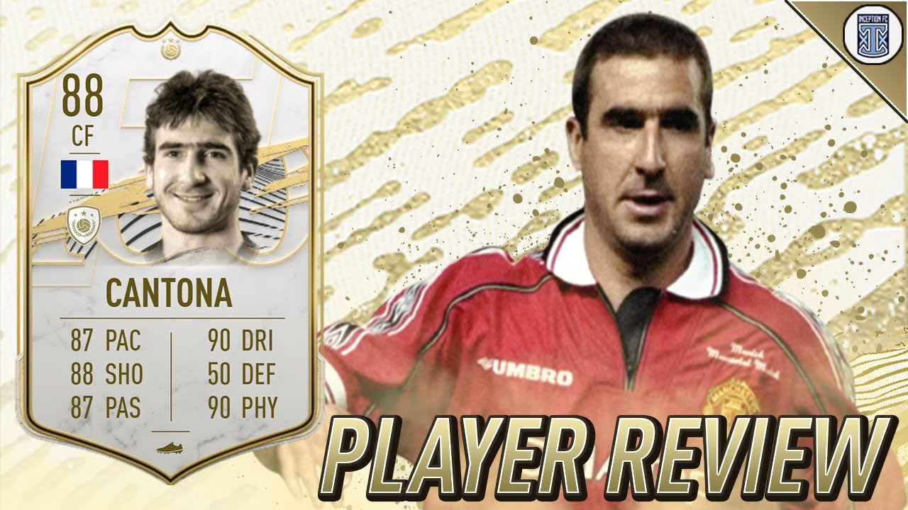 Cantona raul desailly icon sbc announced. 88 Base Icon Cantona Player Review Fifa 21 Ultimate Team Youtube