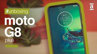 Motorola G8 Plus Unboxing
