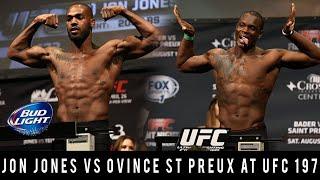 Breaking News! Jon Jones WIll Face Ovince St Preux At UFC 197 For Interim UFC Belt!