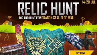 NEW RELIC HUNT EVENT IN GARENA FREE FIRE ! FULL EVENTS DETAILS ! IN GARENA FREE FIRE BY SK GAMER