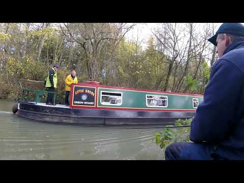 Fishing The Grand Union Canal Near Welford