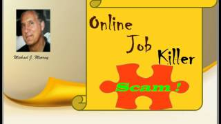 Don't Buy Online Job Killer by David Marshall, Paul Liburd and Andrew X - Online Job Killer Review