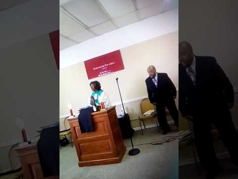 "Pastor Betty Jackson message: ""God Got You"". Psalms 37"