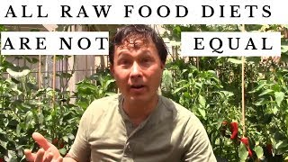 All Raw Food Diets are Not Created Equal - Which One Is Best ?