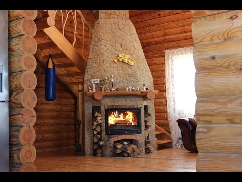 Обзор деревянного дома. Невероятно!