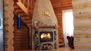 Обзор деревянного дома. Невероятно!(Проведите выходные в 2-х этажном деревянном доме из сруба на настоящей природе. Аренда деревянного дома..., 2015-02-18T17:49:28.000Z)
