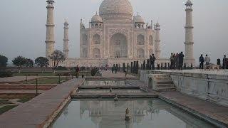 ЧУДО СВЕТА - Дворец Тадж махал в Индии (город Агра)