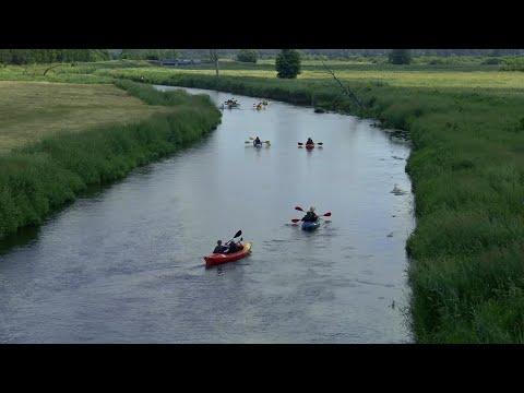 Kijowiec - Malowa Góra - Neple. Spływ kajakowy rzeką Krzną z MOK Terespol