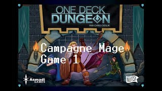 One Deck Dungeon - Campagne Mage - Partie 1 - Grotte du Dragon #1/2