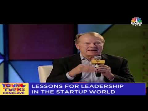 Lessons For Leadership In The Startup World | John Chambers | Young Turks Conclave 2018 | Part 3