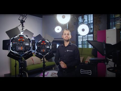 Rotolight Anova PRO : Advanced Features Demonstration : FX Slave, and DMX master Mode (Part 2)