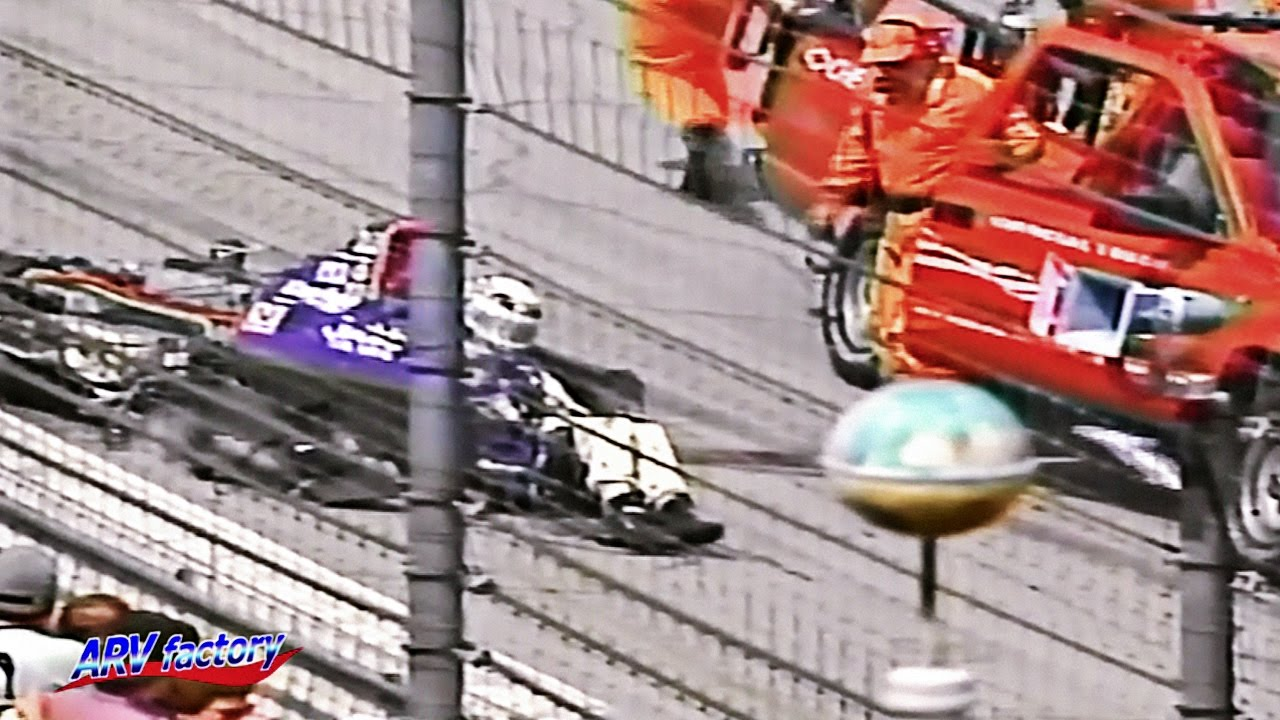 Big Crash - 1995 Indianapolis 500 - YouTube