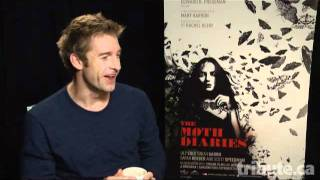 Scott Speedman - The Moth Diaries Interview at TIFF 2011