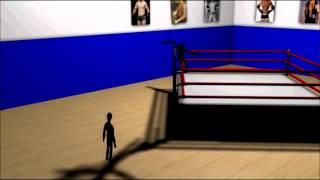 3d animation wrestling attacks