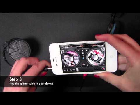 How to use Pre-cueing with edjing DJ app