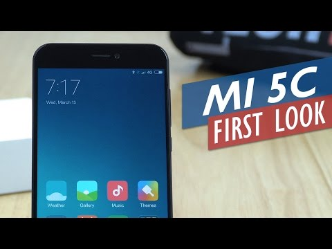 Xiaomi Mi 5C - Unboxing Hands-On Detailed Preview