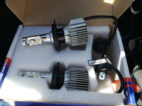 Светодиодные LED-лампы TC-X для Киа Рио III. В два раза больше света. Всем рекомендую.