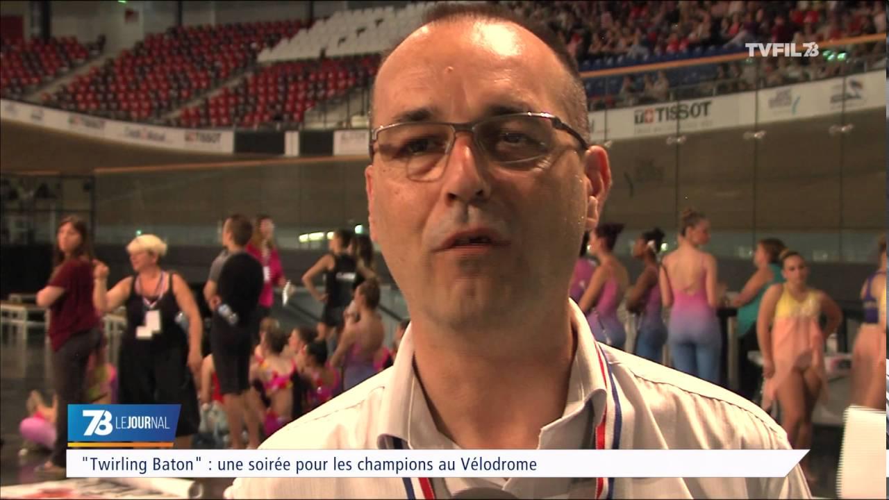 """""""Twirling Baton"""" une soirée pour les champions au Vélodrome"""
