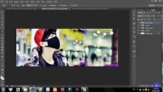 [TUT #3] Hướng dẫn design cover facebook đơn giản bằng photoshop cs6 || Thiên Tỉ of TFBoys