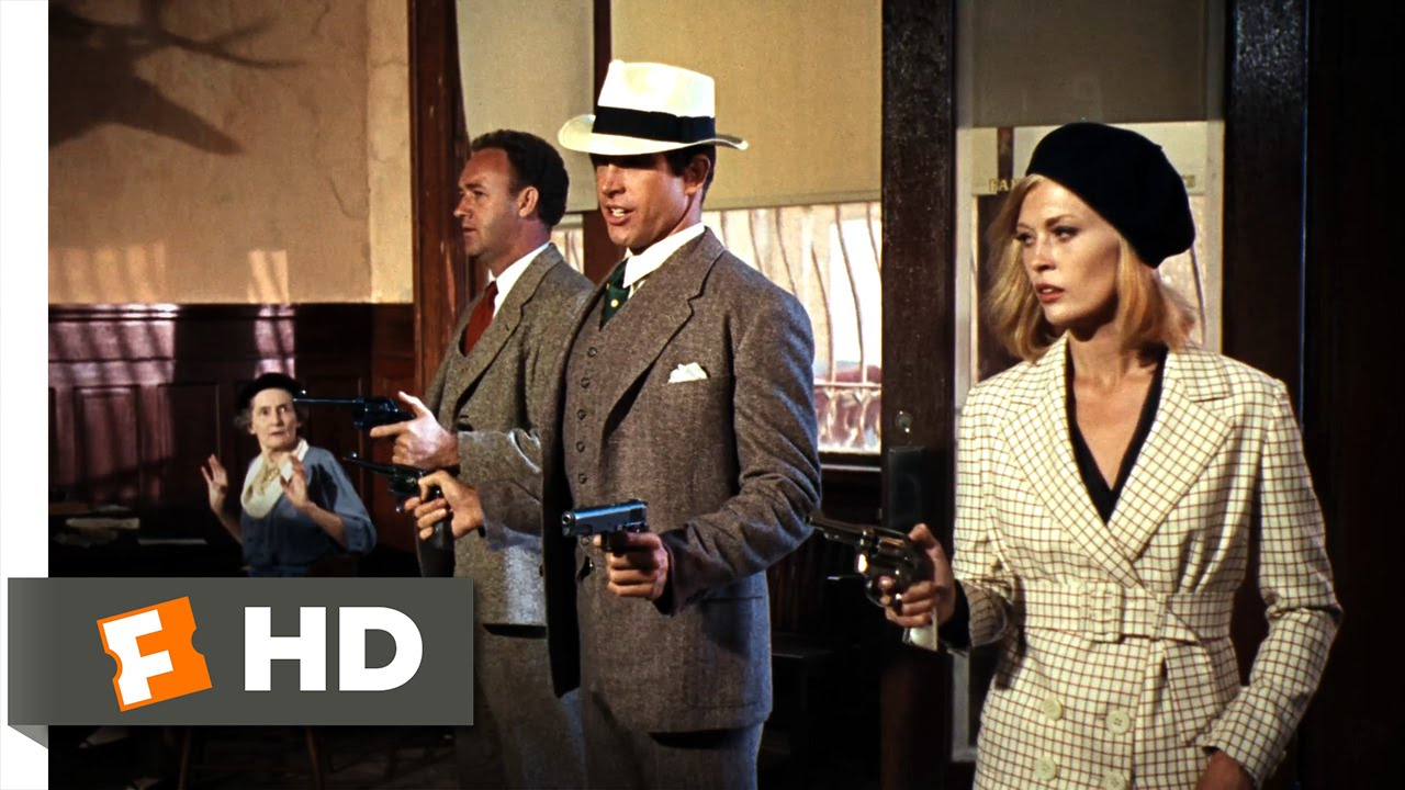 Bonnie and Clyde (1967) HD