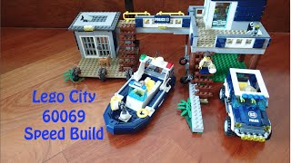 Lego City 60069 Swamp Police Station Speed Build