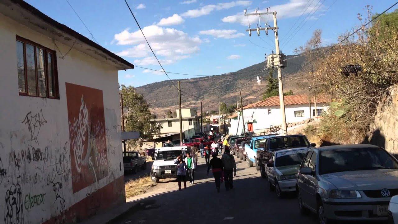 caminando por la la magdalena centro temascalcingo mexico