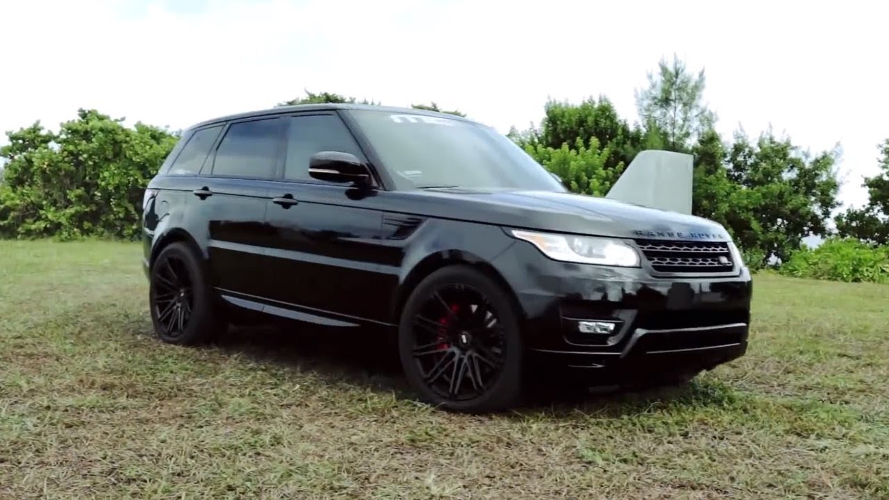 MC Customs  XO Wheels Range Rover Sport  YouTube