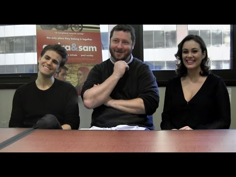 Paul Wesley, Dina Shihabi and Sean Mullin Talk 'Amira & Sam' and 'The Vampire Diaries'