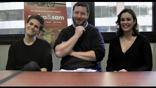 Paul Wesley, Dina Shihabi and Sean Mullin Talk 'Amira & Sam' and 'The Vampire Diaries'
