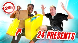 SURPRISING SIMON WITH 24 PRESENTS IN 24 HOURS!