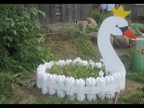 Creative garden craft decoration from recycled waste for Big hands for gardening