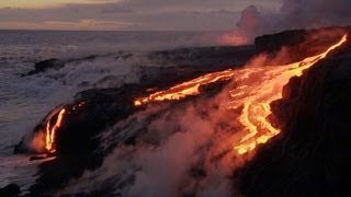 River of Lava - Benedict Cumberbatch narrates South Pacific - BBC