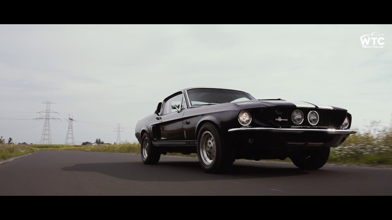 Ford mustang shelby gt500 1967 fastback