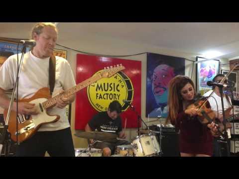Amanda Shaw live Louisiana Music Factory JF 2016