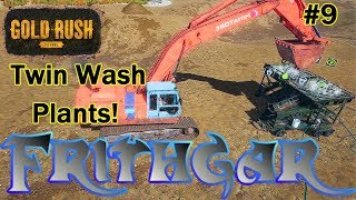 Let's Play Gold Rush The Game #9: Twin Wash Plants!