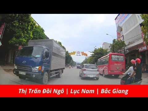 Thị Trấn Đồi Ngô |  Lục Nam | Bắc Giang |  Luc Nam Business Street  | Vietnam Discovery Travel