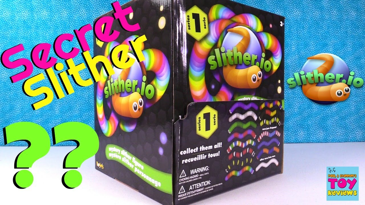 Slither Io Hunt For The Secret Slither Mystery Figure Toy
