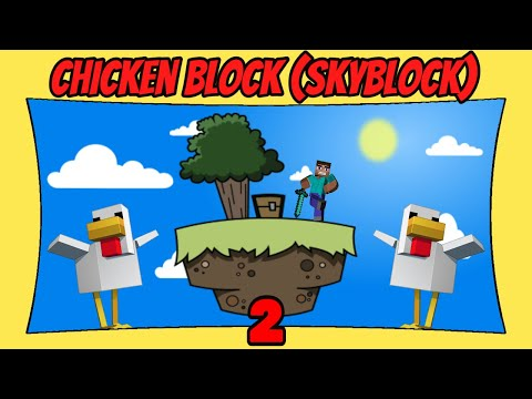 Chicken Block (Skyblock) | 2 | Map Showcase & Gameplay [Minecraft Bedrock Edition] [MCPE]