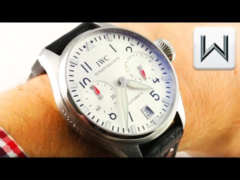 IWC Big Pilot's Watch DFB Deutscher Fussball Bund Limited Edition IW 5004-32 Luxury Watch Review
