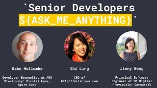 Senior Dev Ask Me Anything (AMA) - Junior Dev SG