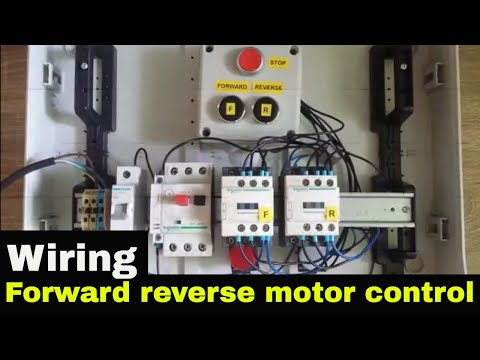 how to wire forward reverse motor control. - youtube  youtube
