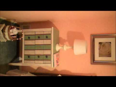 Country French Bedside Table