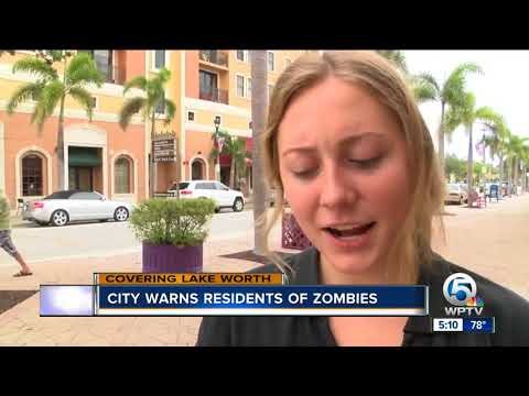 City of Lake Worth warns residents of power outage, zombies