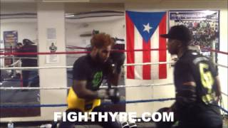 JARRETT HURD PUTS SWIFT MOVES, POWER AND SPEED ON DISPLAY; READY FOR TONY HARRISON CLASH