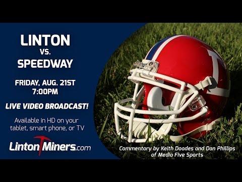 Linton Miners vs. Speedway Sparkplugs - Aug. 21st, 2015 [Football]