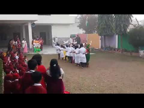Group dance by holy angel school